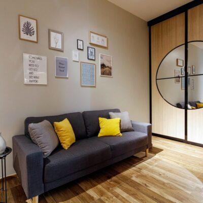 Модная 1-комнатная квартира в Аркадии