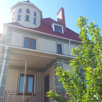 Дом в четырех уровнях в Черноморке