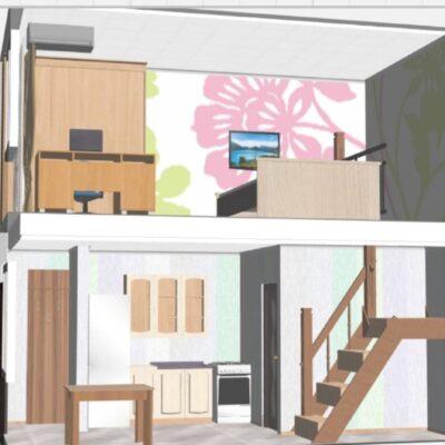 2 уровневая квартира по улице Марата