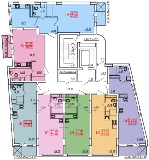 План этажей