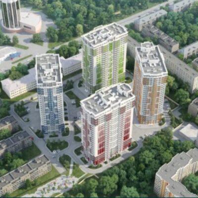 2-комнатная квартира на проспекте Гагарина в ЖК Четыре сезона