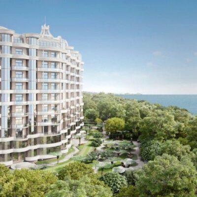 3 комнатная квартира с видом на море/ Французский бульвар