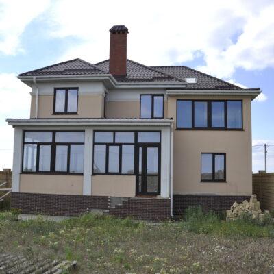 Дом с видом моря в Санжейке под чистовую отделку