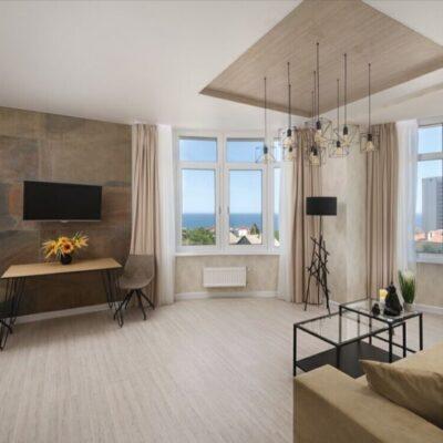 2 комнатная видовая квартира в 44 Жемчужине