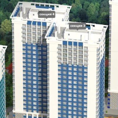 2-комнатная квартира в ЖК Омега/ площадь Толбухина