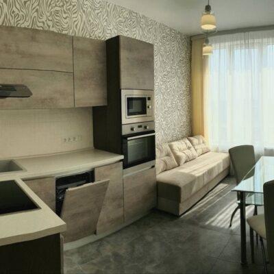 2-комнатная квартира в ЖК Омега с видом на море.