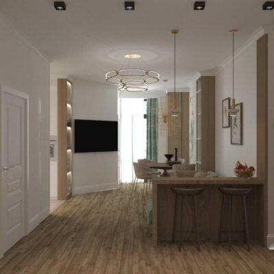 3-комнатная квартира в ЖК Клаб Марин 2
