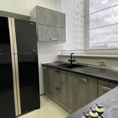 4-комнатная квартира с ремонтом в ЖК Одиссей