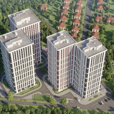 1-комнатная квартира в ЖК Си Вью