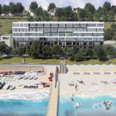 2-комнатная квартира на берегу моря