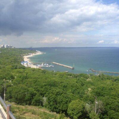 Пентхаус с панорамой моря в переулке Дунаева