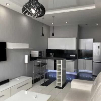 Однокомнатная квартира с дизайнерским ремонтом в Аркадии