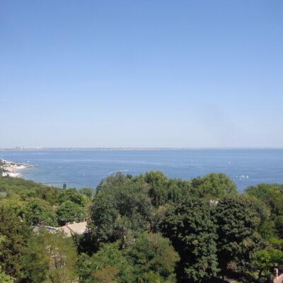 Пентхаус с панорамой моря и террасой, Дом Каркашадзе