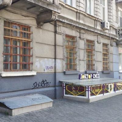Фасадное помещение на улице Греческой