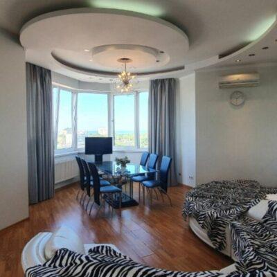 3-комнатная квартира с видом на море в ЖК Чудо Город