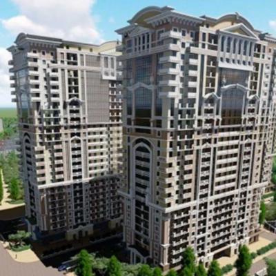 Трехкомнатная квартира в жилом комплексе Акрополь-1