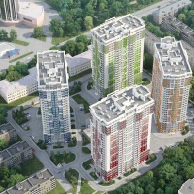 Квартира 102 м2 в ЖК 4 Сезона, проспект Гагарина