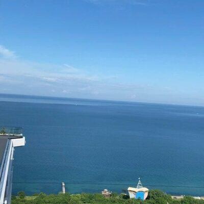 Пентхаус в ЖК Гринвуд, террасса, панорама моря