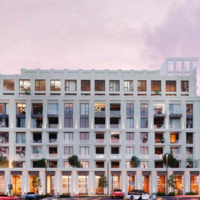 Двухкомнатная квартира в Жилом комплексе Дома Тработти, Французский бульвар.
