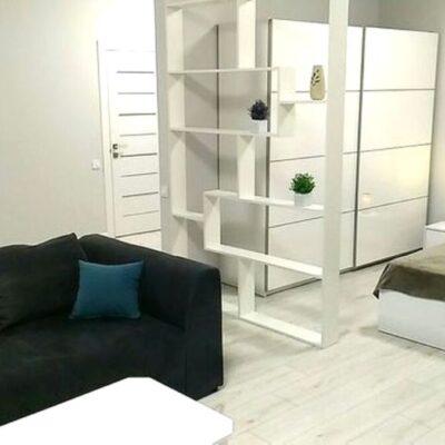 1-комнатная квартира-студия на Каманина с видом на море