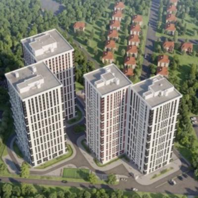 Двухкомнатная квартира в Жилом комплексе СИ ВЬЮ с видом на море Аркадия на Гагаринском плато.