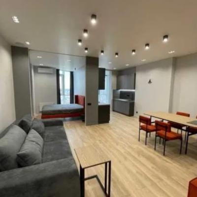 Двухкомнатная квартира в жилом комплексе Аквамарин.
