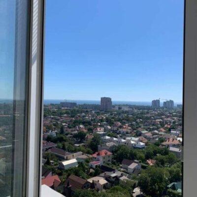 3 комнатная квартира с видом на море в ЖК Горизонт