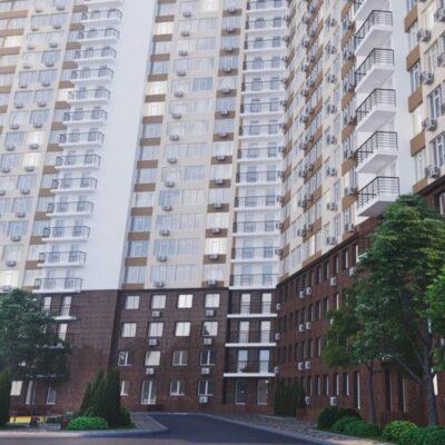 2-комнатная видовая квартира в 53 Жемчужине